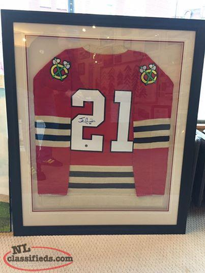 Stan Mikita Authentic signed/framed Chicago Black Hawks jersey w COA