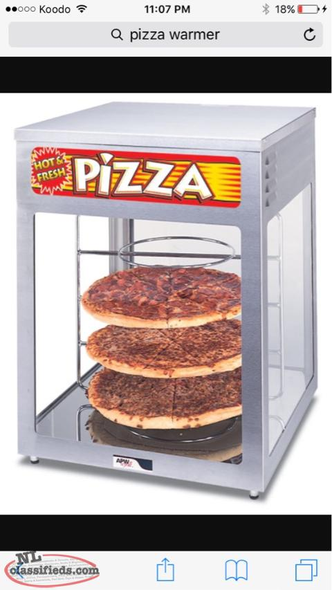 """Wanted"" Pizza Warmer"