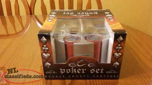 Orange County Choppers poker set