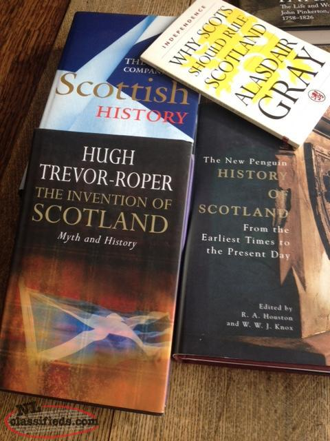 Scotland: Unique collection of new and old books about Scotland