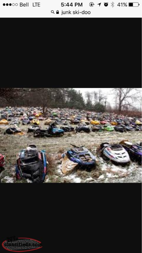 Wanted To Buy Your Old Junk Ski-doo