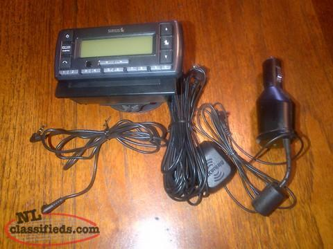 REDUCED Sirius Stratus 6 Radio and complete car kit REDUCED
