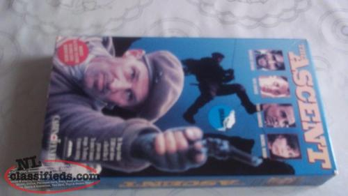 VHS movie for sale, THE ASCENT
