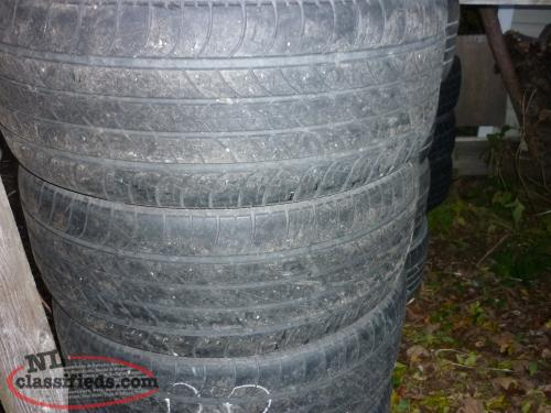 4 20IN. GOODYEAR EAGLE LE2 TIRES LT265/55R20