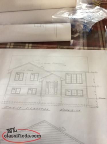 5 Set Professionally Drawn Houseplans