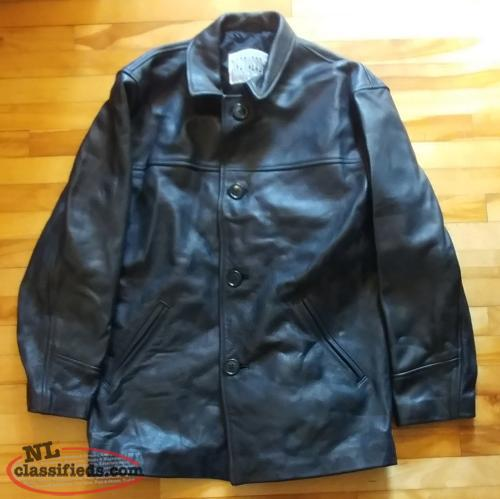 St. John's Maple Leafs Limited Edition Leather Jacket