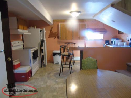 One Bedroom Basement apt. ALL UTILITIES Included!