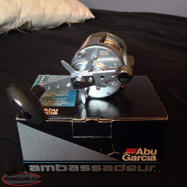 Abu Garcia Record Baitcasting Fishing Reel