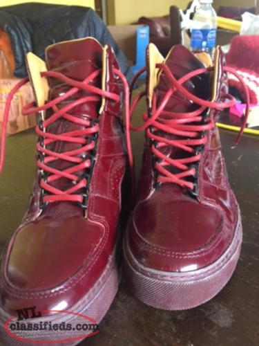 Ladies Fluvog Boots (size 9)