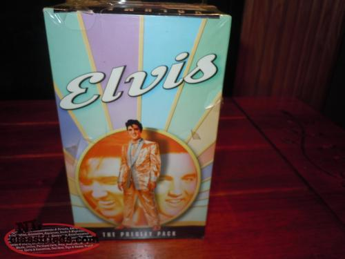 ELVIS COMMEMORATIVE COLLECTION VHS VOLUME 1 AND 2 NEW $25 EA VOL 4 TAPES EA VOL
