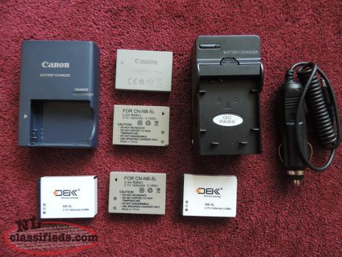 Canon Camera Batteries / Chargers