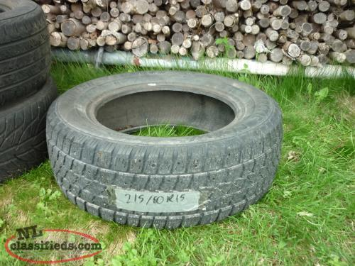 1 15IN. ARCTIC CLAW WINTER TXI M+S TIRE P215/60R15