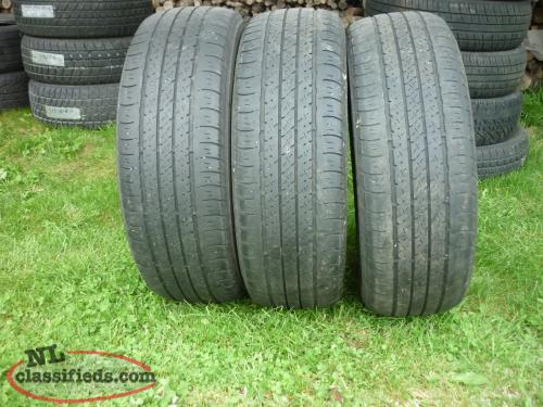 3 15IN. FIRESTONE AFFINITY ALL SEASON TIRES P195/65R15