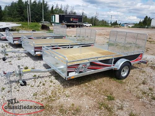 "2021 REMEQ 52"" x 98"" Single Axle Trailer"
