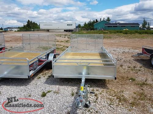 "2018 REMEQ 68"" x 132"" Single Axle Trailer"