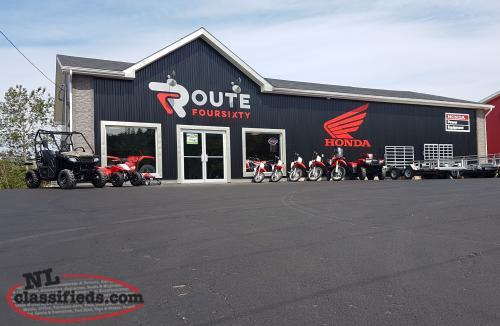 ROUTE 460 The Newest Honda Dealership On The Island!!