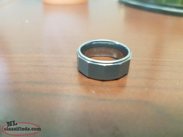 Men's Tungsten ring size 8