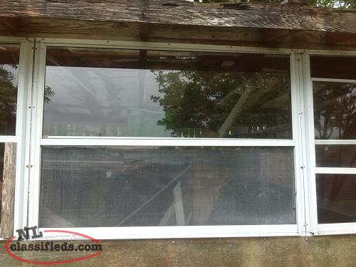 GREENHOUSE Windows - Aluminum framed