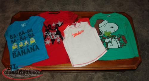 Girls T- Shirts Size L 14 / 16 XL Youth. Lot of 4.