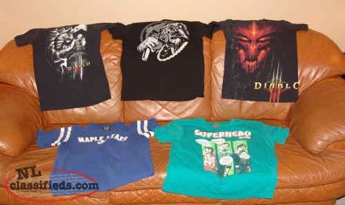 Boys Clothes Youth t-shirts Size Small, Med, Large, Diablo, Star Wars etc.