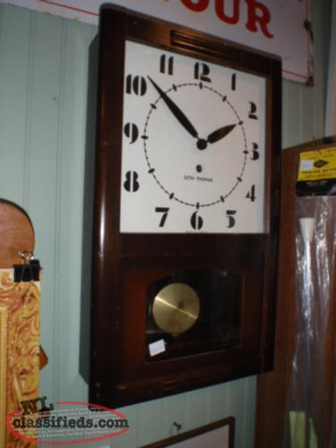 old seth thomas school clock