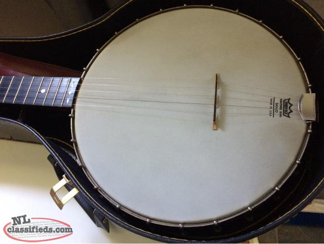 1884 Fairbanks And Cole Banjo
