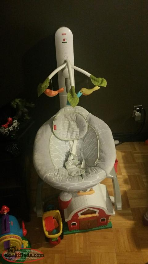 Fisher Price Smart Connect Swing and Cradle