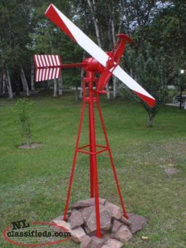 antique windmill