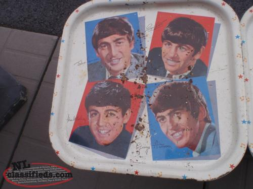 60's beatles tray