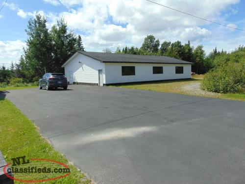 2 Property Lots - House and Large Garage for Sale - Carmanville, NL