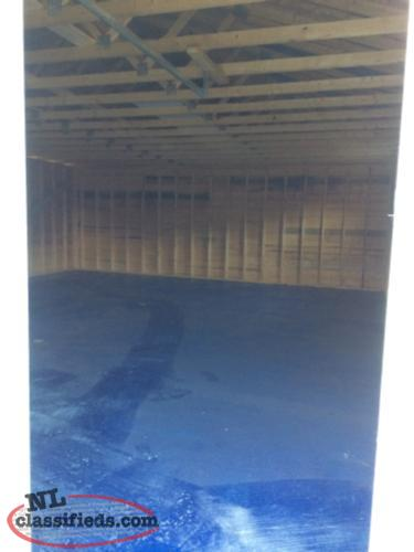 New Storage Shed For Rent