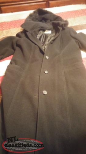 Long womens winter jacket