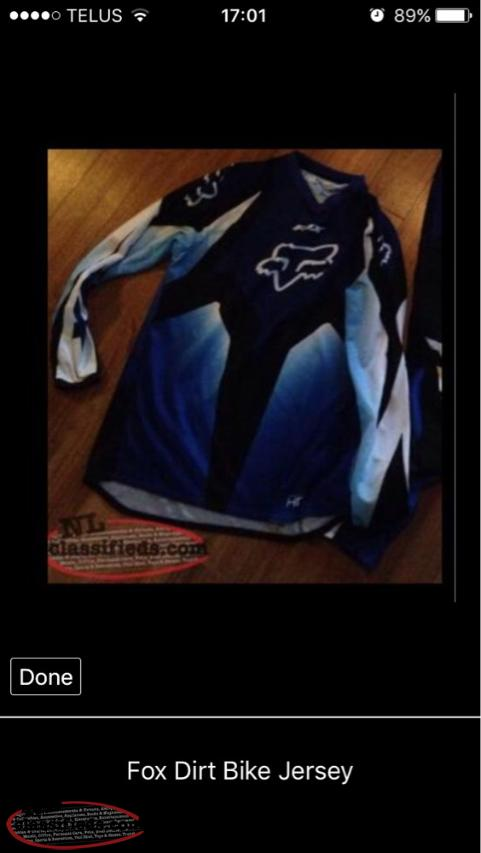 Fox Dirt Bike Jersey