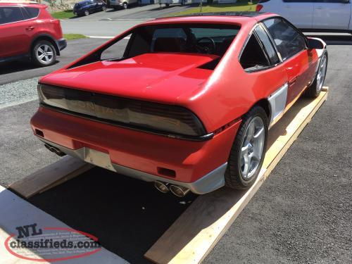 V8 Fiero Project car