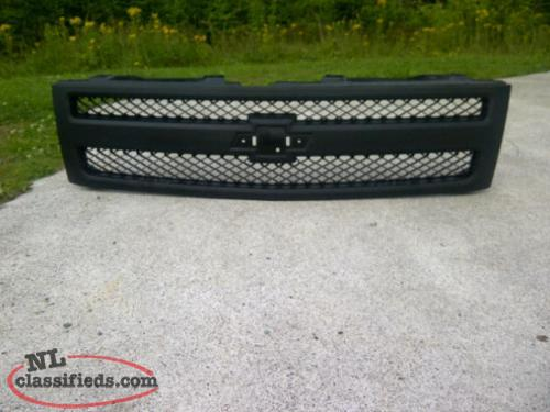 New Chev Silverado Black Grill