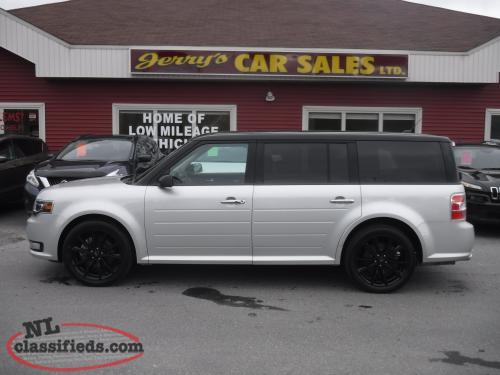 2017 Ford FLEX Limited AWD 20kms $259 B/W