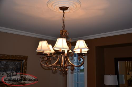 Chandalier light fixtrue