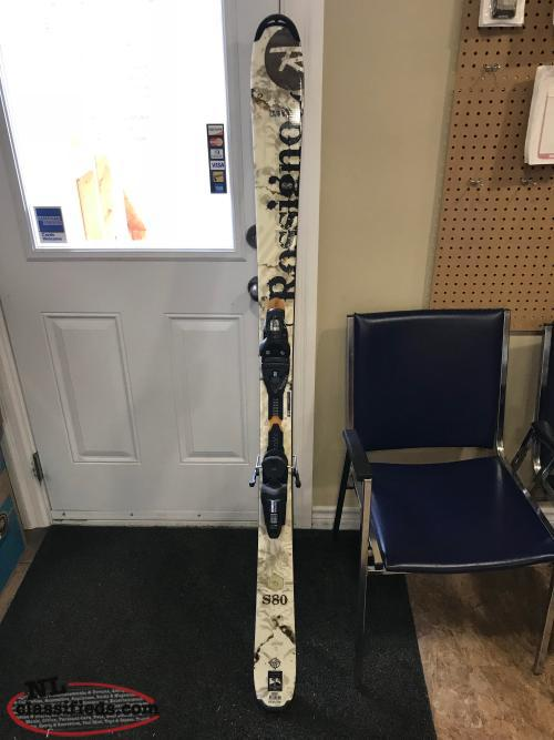 Skis, Bindings & Boots Used once