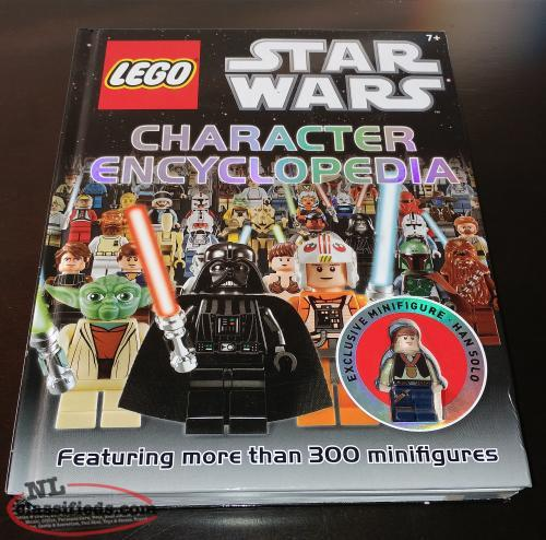 Lego Star Wars Character Encyclopedia w/Hans Solo