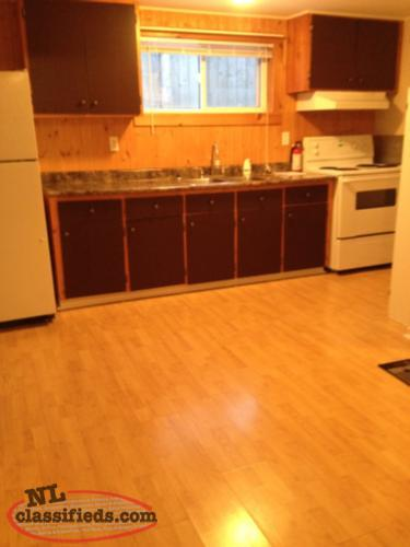 $750.00 Mt. Pearl Two Bedroom Heat and Hot Water Included