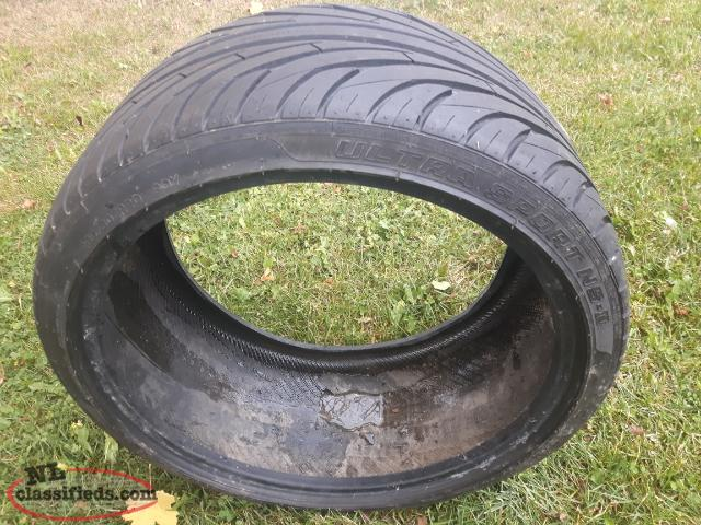 1 Tire...Brand New...never mounted. 285/30ZR20