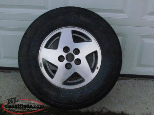 One Tire For Sale