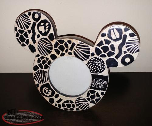 Mickey Mouse Disney Rare Mosaic Frame