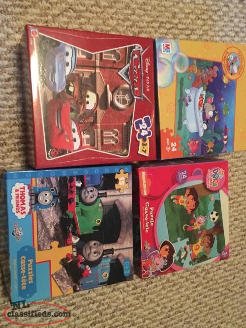 Childrens Puzzles Thomas, Dora, Toopy and Cars for sale in GFW