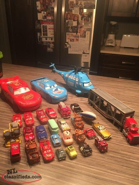 Large Collection of Cars from The CARS Movie For Sale in GFW