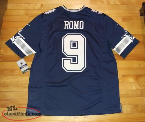 Dallas Cowboys Official NFL Romo Jersey (New)