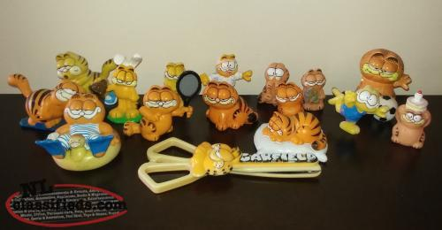 Vintage Garfield Collectibles