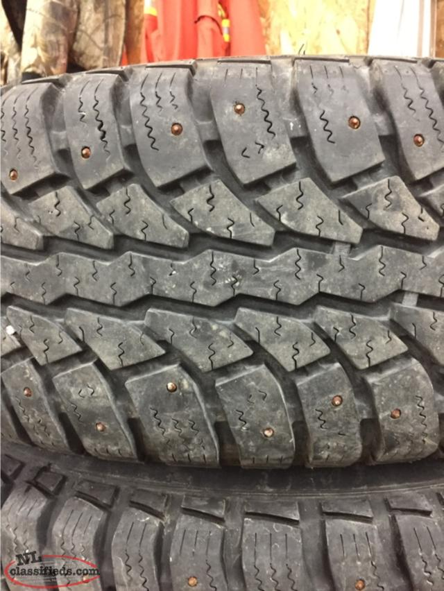 265/70/r17 Studded Tires And Rims