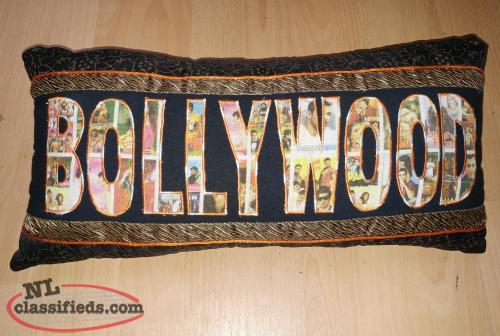 Bollywood Accent Pillow