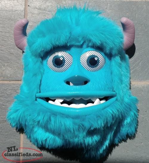 Monsters Inc Sullivan Mask with Moving Mouth